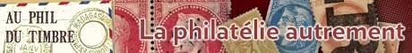 Au phil du timbre  : Philatélie et collection de timbres Nous partageons une même passion : la philatélie. Découvrez nos promotions, offres et accessoires : tout pour enrichir votre collection de timbres!  Nous sommes spécialisés en timbres classiques de France et des colonies Françaises avant indépendance. Votre garantie : « 100% satisfait ou remboursé » sans discuter.