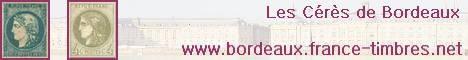 """Les Cérès de Bordeaux 1870-1871 GOUVERNEMENT PROVISOIRE EMISSION DITE """"CERES DE BORDEAUX"""". Ce site a été conçu pour être utile au collectionneur. Commencé le 16 février 2011, il mettra quelques années avant d'être complet. Pour le moment le chantier le plus compliqué, celui du 20 centimes est ouvert. Ce site deviendra en premier lieu une aide à l'identification incontournable. Il sera fait par vous, pour vous. N'hésitez pas à participer de la manière que vous pouvez. En attendant, bénéficiez des possibilités suivantes, au fur et à mesure de leur mise en fonction"""
