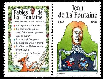 fr_2964 : Fables de La Fontaine, 1995